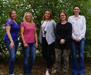 Die Mitarbeiter der Arbeitsgruppe von Frau Dr. Anna Becker